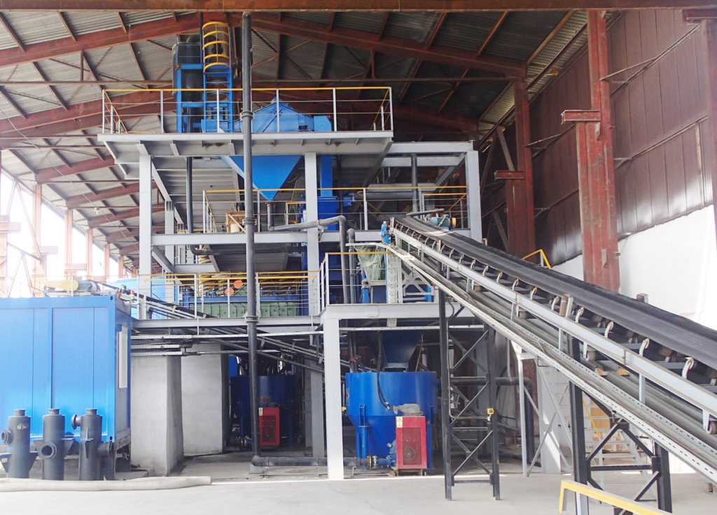 New Glass Sand Processing Plant