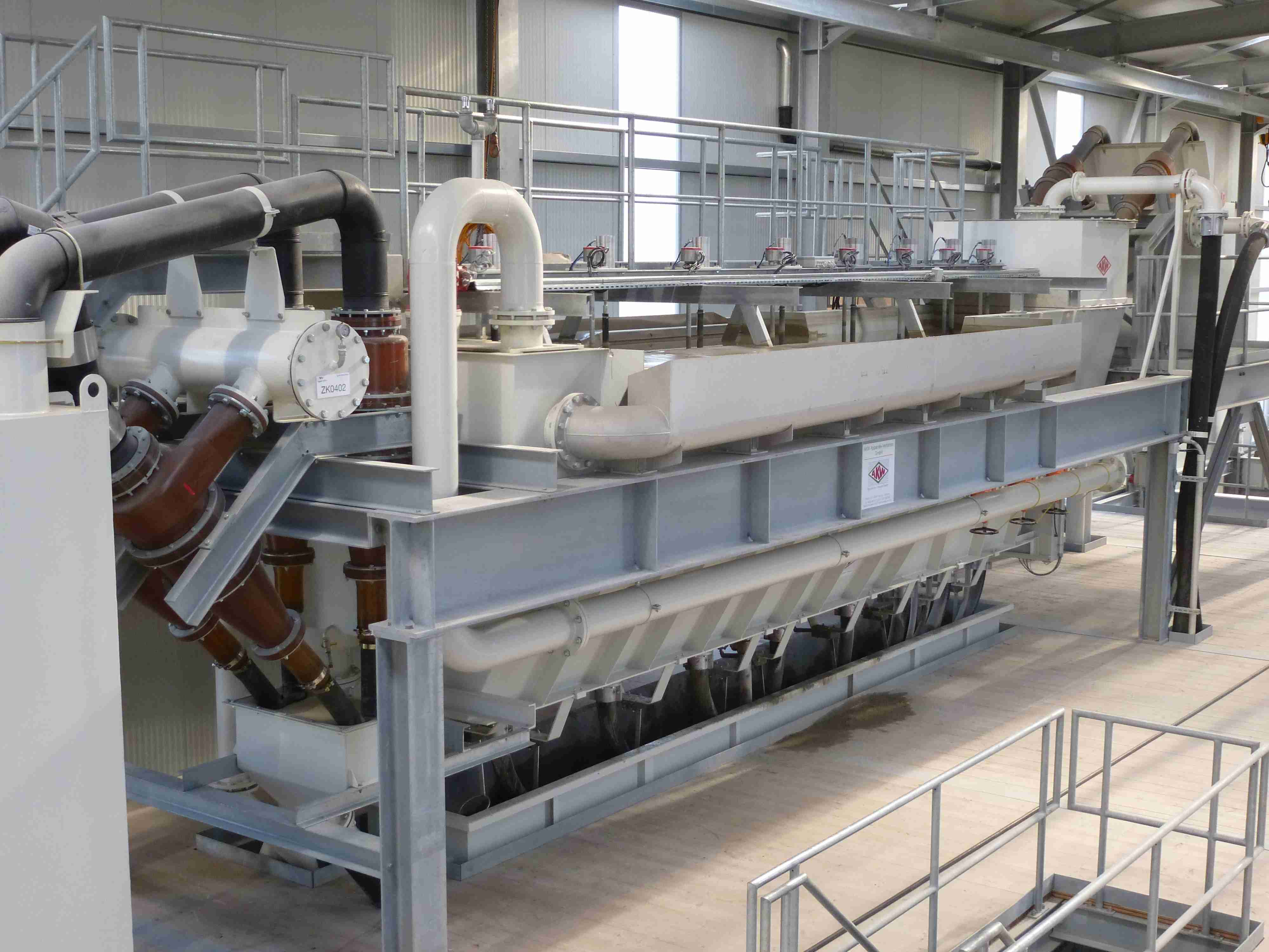 自由沉降式分级机 AKOREL