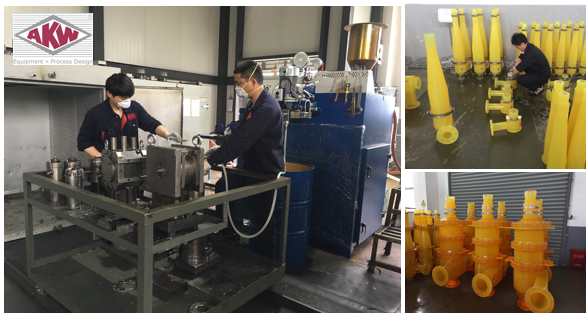 New Casting Machine - Hydrocyclones